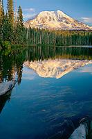 Mt. Adams from Takhlakh Lake<br /> Gifford Pinchot National Forest<br /> Cascade Range, Washington