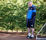 Ally McCoist at training today