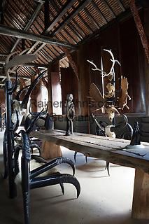Thailand, Northern Thailand, Chiang Rai: House of national artist Thawan Duchanee | Thailand, Nordthailand, Chiang Rai: Haus des heimischen Kuenstlers Thawan Duchanee