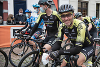 Michael Albasini (SUI/Mitchelton-Scott) at the start of his very last pro race in Herve<br /> <br /> 84th La Flèche Wallonne 2020 (1.UWT)<br /> 1 day race from Herve to Mur de Huy (202km/BEL)<br /> <br /> ©kramon