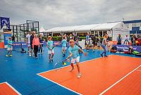 Den Bosch, Netherlands, 14 June, 2018, Tennis, Libema Open, Meet & Beat Robin Haase (NED)<br /> Photo: Henk Koster/tennisimages.com
