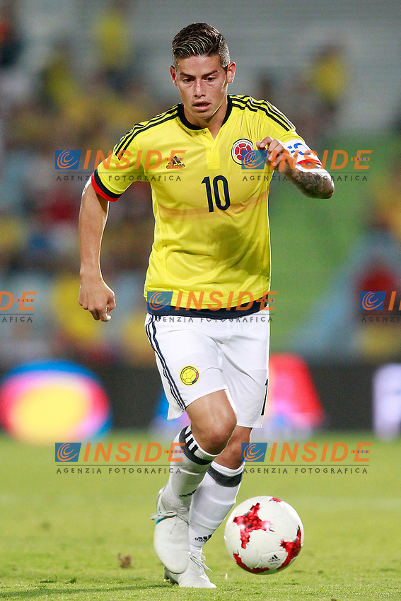Colombia's James Rodriguez during international friendly match. June 13,2017.(ALTERPHOTOS/Acero/Insidefoto)<br /> Camerun - Colombia <br /> Foto Acero/Alterphotos/Insidefoto <br /> ITALY ONLY