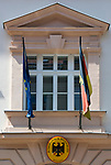 HUN, Ungarn, Budapest, Stadteil Buda, Burgviertel: Deutsche Botschaft in der Herrengasse (Úri utca) | HUN, Hungary, Budapest, Castle District: German Embassy at lane Úri utca