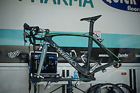 Mark Cavendish's personalised Specialized bike<br /> <br /> Tour de France 2013<br /> restday 2