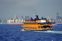 - USA, New York, ferry for Staten Island<br /> <br /> - USA, New York, traghetto per Staten Island