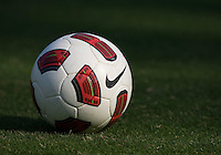 Nike Ball. The USWNT practice at WakeMed Soccer Park in preparation for their game with Japan.