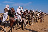 Reiter, Festival in Douz, Tunesien
