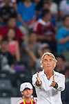 Roberto Mancini head coach of FC Internazionale Milano reacts during the AC Milan vs FC Internacionale as part of the International Champions Cup 2015 at the looks onnggang Stadium on July 25, 2015 in Shenzhen, China.  Photo by Aitor Alcalde / Power Sport Images
