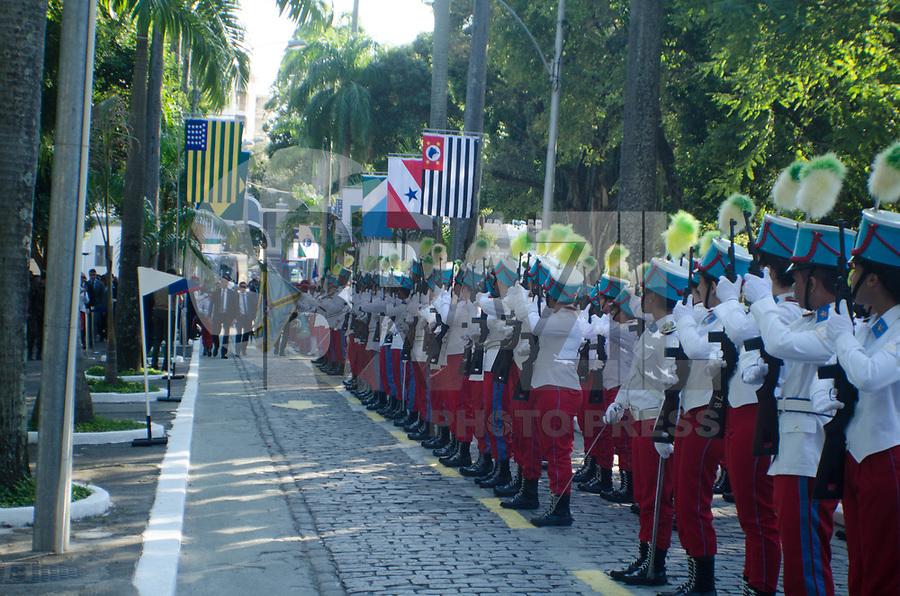 Rio de Janeiro (RJ), 06/05/2019 - Bolsonaro / Politica - O Presidente Jair Mesias Bolsonaro passa a manhã no Rio de Janeiro em comemoração do Colégio Militar na Tijuca, Janeiro nesta segunda-feira, 12 (Foto: Vanessa Ataliba/Brazil Photo Press)