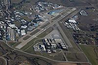 aerial photograph of San Luis Obispo airport (SBP), San Luis Obispo County, California
