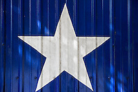 The current design of the Lone Star - Symbol of the State of Texas (Texas Lone Star) was introduced to the Congress of the Republic of Texas on December 28, 1838, by Senator William H. Wharton, was adopted on January 25, 1839, and eventually became the current state flag. The flag, flown at homes and businesses statewide, is highly popular among Texans and is treated with a great degree of reverence and esteem within Texas.