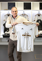 Pictured: Francesco Guidolin at the Liberty Stadium Monday 18 January 2016<br />