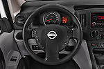 Car pictures of steering wheel view of a 2015 Nissan NV200 Visia 5 Door Cargo Van