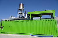 CROATIA, Slavonia, biogas plant / KROATIEN, Slawonien, Biogasanlage der Firma Bioplin Proizvodnja d.o.o. in Medinci bei Slatina, BHKW