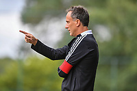Head coach Stephane Guidi of Standard pictured during a female soccer game between Standard Femina de Liege and Eendracht Aalst dames on the fourth matchday in the 2021 - 2022 season of the Belgian Scooore Womens Super League , Saturday 11 th of September 2021  in Angleur , Belgium . PHOTO SPORTPIX   BERNARD GILLET