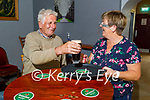 Den Joe O'Connor from Brosna enjoying a pint in Kearney's Bar Castleisland being served by Betty O'Connell.