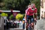 EF Education-Nippo arrive at sign on before Stage 3 of La Vuelta d'Espana 2021, running 202.8km from Santo Domingo de Silos to Picon Blanco, Spain. 16th August 2021.    <br /> Picture: Unipublic/Charly Lopez | Cyclefile<br /> <br /> All photos usage must carry mandatory copyright credit (© Cyclefile | Unipublic/Charly Lopez)