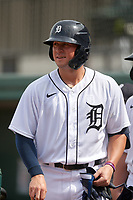 Detroit Tigers Spencer Torkelson (19) during a Florida Instructional League game against the Pittsburgh Pirates on October 16, 2020 at Joker Marchant Stadium in Lakeland, Florida.  (Mike Janes/Four Seam Images)