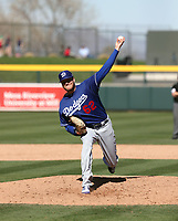 Adam McCreery - Los Angeles Dodgers 2019 spring training (Bill Mitchell)
