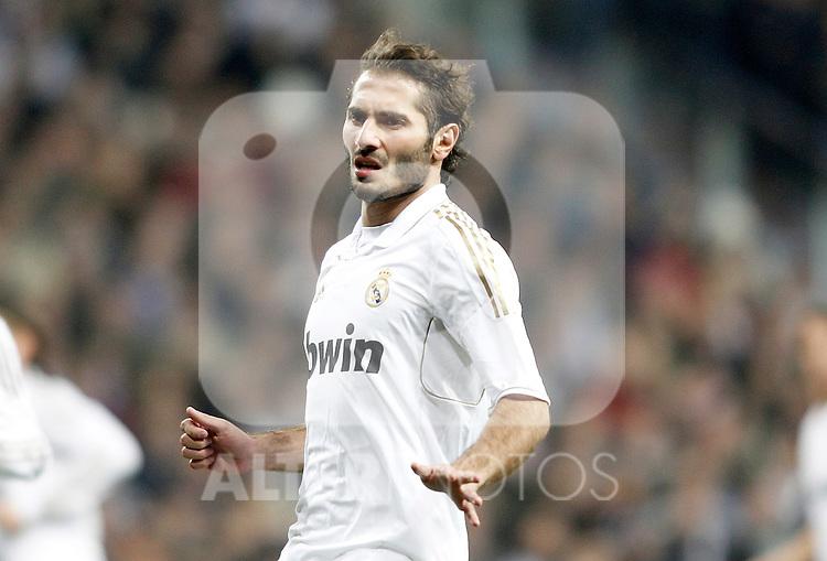 Real Madrid's Hamit Altintop during King's Cup Match. January 18, 2012. (ALTERPHOTOS/Alvaro Hernandez)