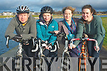A new leisure cycling club is inviting new cyclists to join them for a weekly sociable outing. The aim is to encourage more people to get on their bikes this year and to help meet new friends. .L-R Danny and Marcella Murphy, Maria Moynihan and Deirdre Kearney.