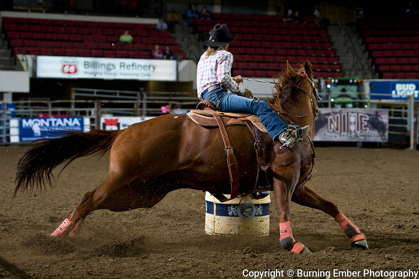 Gayleen Malone at the NILE Rodeo Slack Oct 16th, 2019.  Photo by Josh Homer/Burning Ember Photography.  Photo credit must be given on all uses.