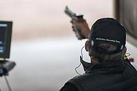 Tokyo 2020 - shooting / Chris Pitt<br /> 2019 World Shooting Para Sport Champions <br /> Sydney International Shooting Centre<br /> Saturday 12 Oct 2019 Paralympics Australia<br /> © STL / Jeff Crow / Paralympics Australia