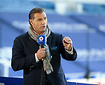 04.10.2020 Rangers v Ross County: Lorenzo Amoruso commentating for Rangers TV