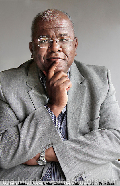 Jonathan Jansen, Rector and Vice Chancellor, University of the Free State, was one of 25 South African leaders interviewed and photographed for a book on leadership to be published by TSiBA, a college for tertiary education, in October 2011.