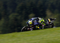 21st August 2020, Red Bull Ring, Spielberg, Austria. MotoGP of Ausria, Free Practise sessions:  Valentino Rossi ITA / Monster Energy Yamaha MotoGP