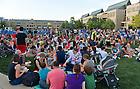 Aug. 27, 2013; 2013 Opening picnic.<br /> <br /> Photo by Matt Cashore/University of Notre Dame