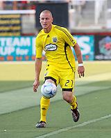 Ryan Junge in the 2-0  Real Salt Lake win at Rice Eccles Stadium  in Salt Lake City, Utah on  July 12, 2008.