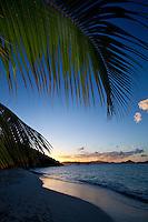 Salomon Beach Sunset.Virgin Islands National Park.St John, US Virgin Islands