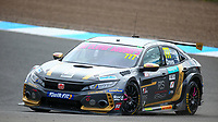 29th August 2020; Knockhill Racing Circuit, Fife, Scotland; Kwik Fit British Touring Car Championship, Knockhill, Qualifying Day; Michael Crees in action during free practice