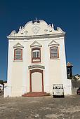 Goias Velho, Brazil. Well preserved colonial town. Igreja da Boa Morte (Church of the Good Death).