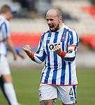 Jamie Hamill celebrates his goal for Kilmarnock