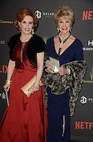 LOS ANGELES - JAN 10:  Kat Kramer, Karen Sharpe Kramer at the Weinstein Company & Netflix 2016 Golden Globe After Party at the Beverly Hilton on January 10, 2016 in Beverly Hills, CA