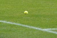 Lilienfans warfen nach dem 0:1 einen Tennisball auf den Rasen<br /> <br /> - 24.07.2021 Fussball 2. Bundesliga, Saison 21/22, Spieltag 1, SV Darmstadt 98 - SV Jahn Regensburg, Stadion am Boellenfalltor, emonline, emspor, <br /> <br /> Foto: Marc Schueler/Sportpics.de<br /> Nur für journalistische Zwecke. Only for editorial use. (DFL/DFB REGULATIONS PROHIBIT ANY USE OF PHOTOGRAPHS as IMAGE SEQUENCES and/or QUASI-VIDEO)