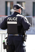 Policemen at<br /> the funerals of Jean Lapierre, former politician and media,<br />  April 16, 2016 in Outremont.<br /> <br /> Photo : Pierre Roussel - Agence Quebec Presse<br /> <br /> <br /> <br /> <br /> <br /> <br /> <br /> <br /> .
