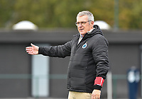 Head Coach Leo Van Der Elst (Brugge) pictured during a female soccer game between Club Brugge Dames YLA and RSC Anderlecht Ladies on the fifth matchday of the 2020 - 2021 season of Belgian Scooore Womens Super League , sunday 18 October 2020  in Brugge , Belgium . PHOTO SPORTPIX.BE | SPP | DAVID CATRY
