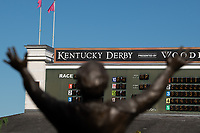 5th September 2020, Louisville, KY, USA;  General interior view during the 146th Kentucky Derby on September 5, 2020 at Churchill Downs in Louisville, KY.