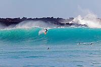 Surfing at Makena, Maui