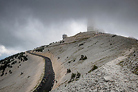 coming down the Mont Ventoux<br /> <br /> Stage 11 from Sorgues to Malaucène (199km) running twice over the infamous Mont Ventoux<br /> 108th Tour de France 2021 (2.UWT)<br /> <br /> ©kramon
