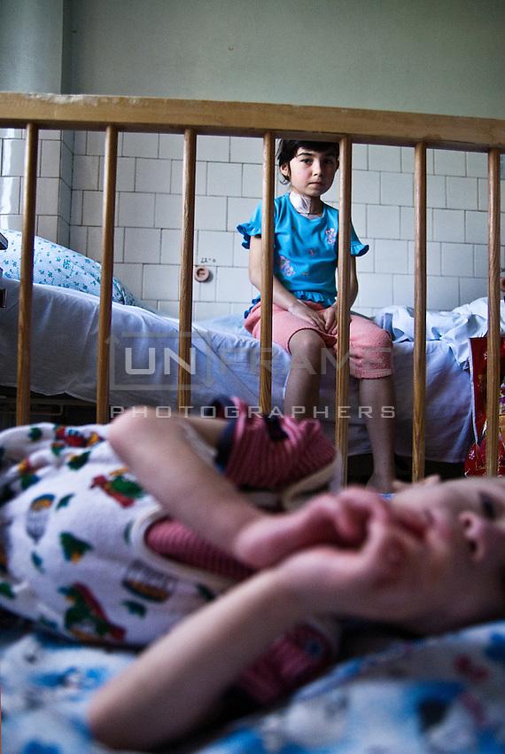 Orfan children on rehab after open heart surgeries.