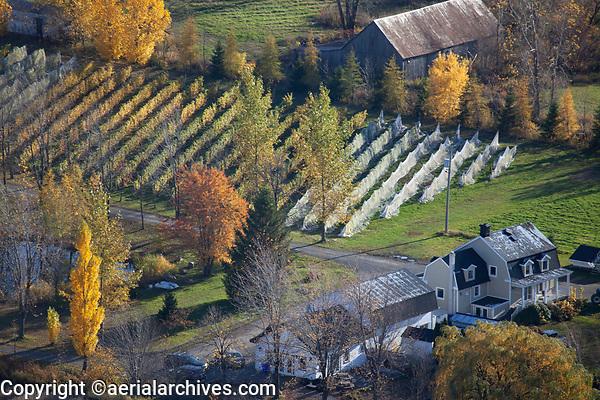 aerial photograph of the Domain Du Fleuve at the Saint Lawrence River in Varennes, near Montreal, Quebec, Canada | photographie aérienne du Domaine du Fleuve sur le fleuve Saint-Laurent à Varennes, près de Montréal, Québec, Canada
