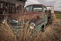 Aging Chevy on the Palouse Prairie Washington state