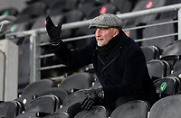 Grimsby Town manager Ian Holloway reacts in the stands<br /> <br /> Photographer Alex Dodd/CameraSport<br /> <br /> EFL Papa John's Trophy - Northern Section - Group H - Hull City v Grimsby Town - Tuesday 17th November 2020 - KCOM Stadium - Kingston upon Hull<br />  <br /> World Copyright © 2020 CameraSport. All rights reserved. 43 Linden Ave. Countesthorpe. Leicester. England. LE8 5PG - Tel: +44 (0) 116 277 4147 - admin@camerasport.com - www.camerasport.com