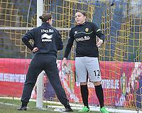 Denmark U17 - Belgium U17 : Justien Odeurs .foto DAVID CATRY / Vrouwenteam.be
