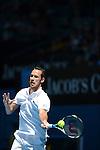 Llodra loses at Australian Open in Melbourne Australia on 15thJanuary 2013