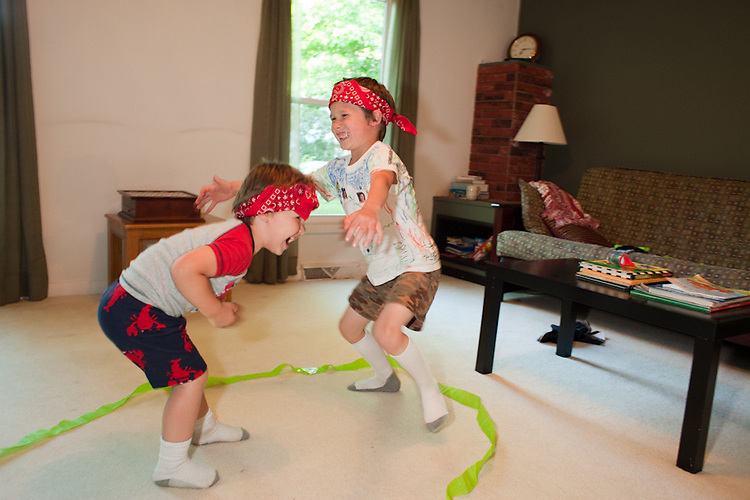 During a birthday celebration for my mom, my sons, ages four and almost seven, surprised us all by bursting into the living room and staging an impromptu sumo wrestling match.